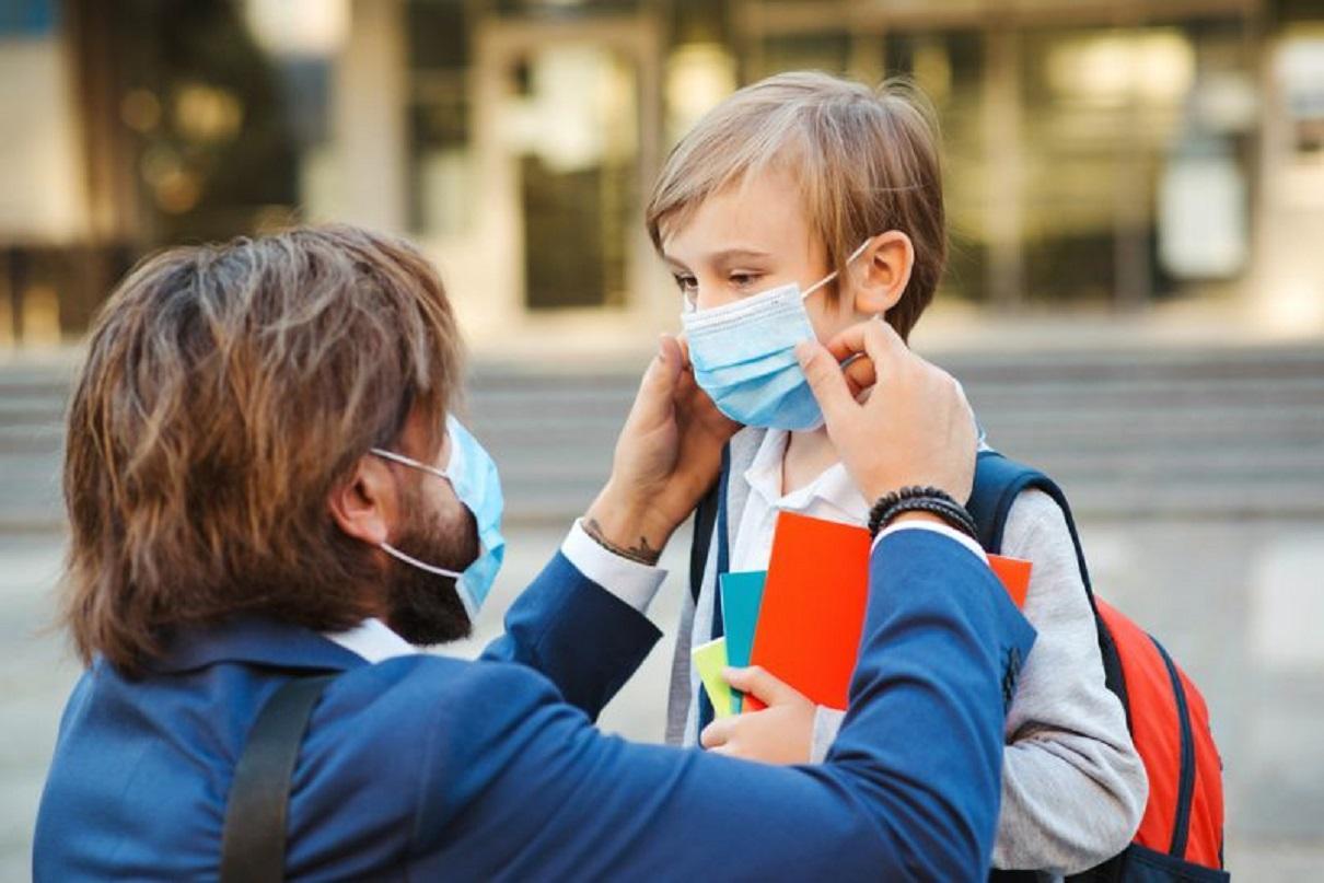Mascherina a scuola: non va portata sempre, ecco quando e chi la può togliere